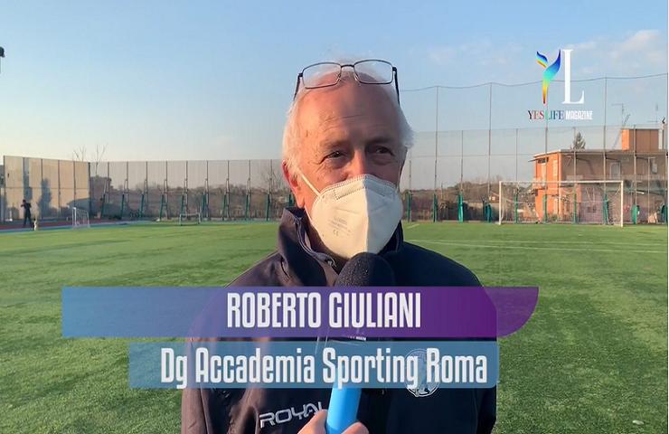 Roberto Giuliani Accademia Sporting Roma
