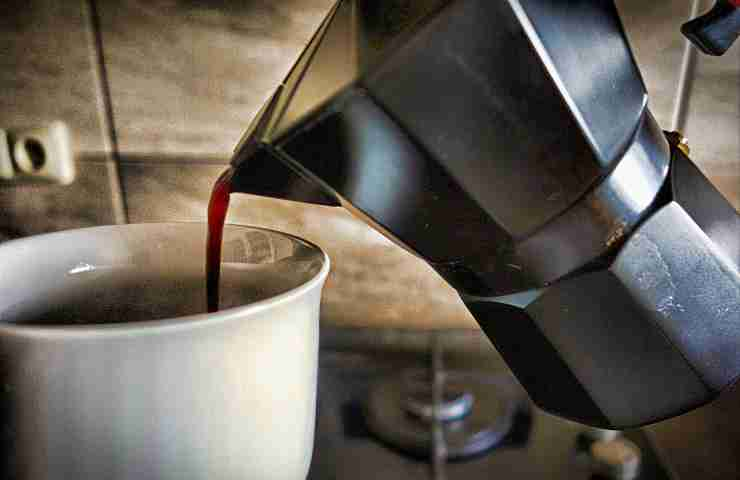 pulizia macchinetta caffè