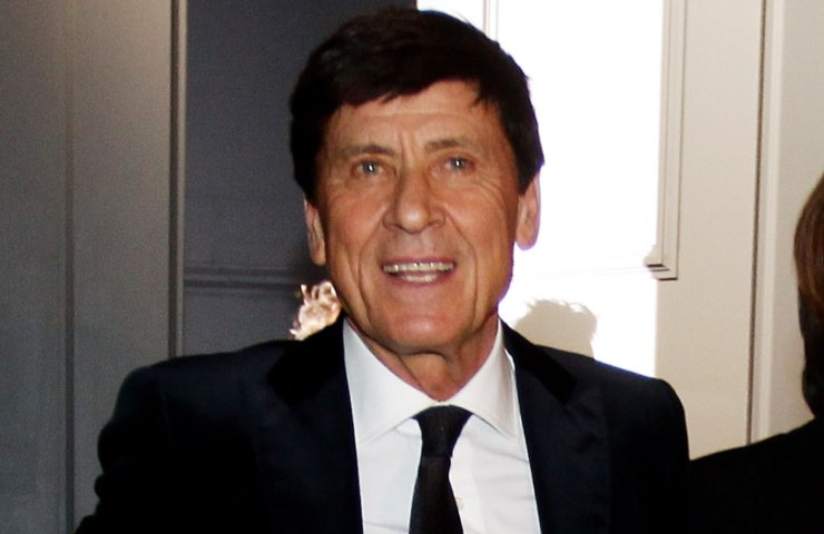 Gianni Morandi mani ustionate