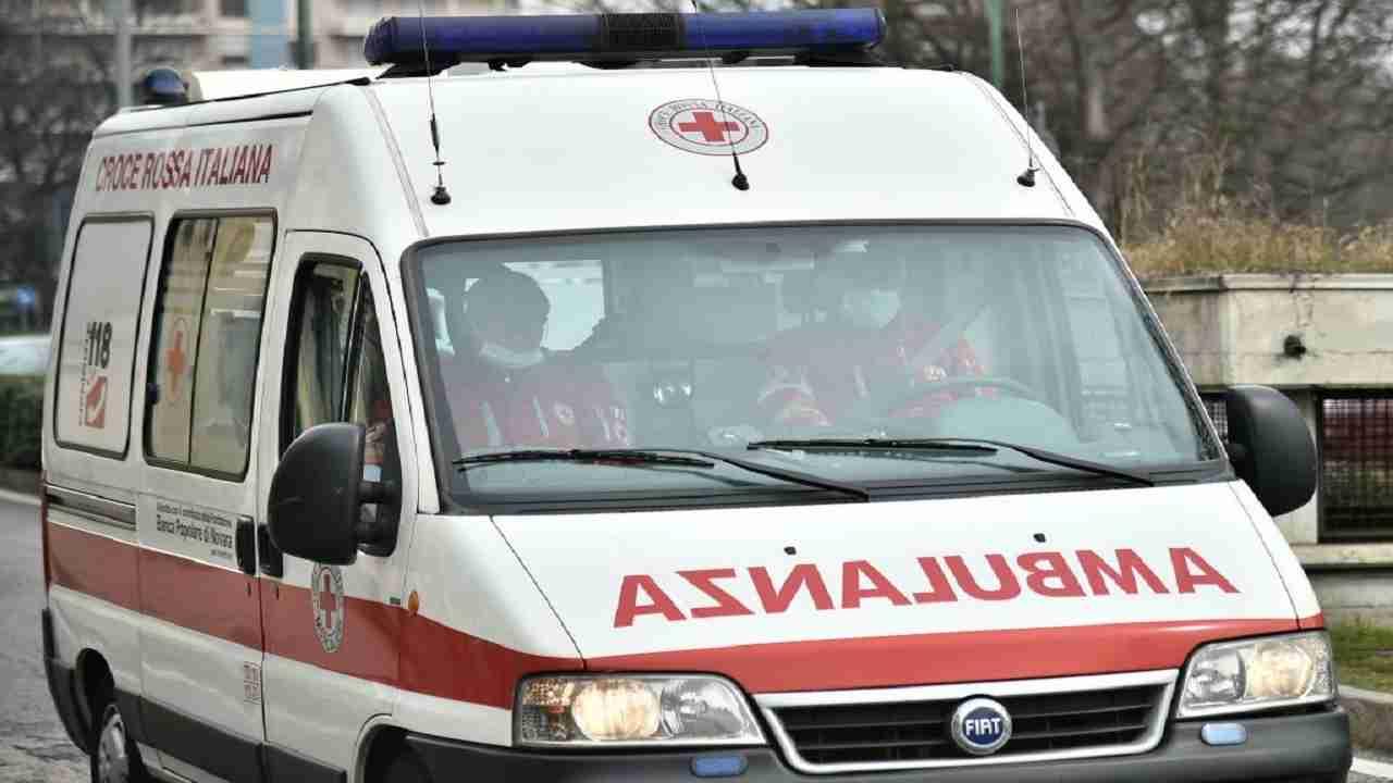 Bergamo incidente statale galleria morto uomo