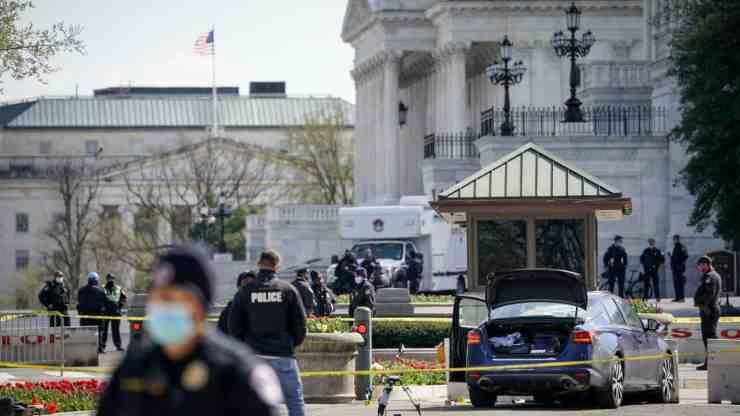 Attacco Capitol Hill identikit aggressore