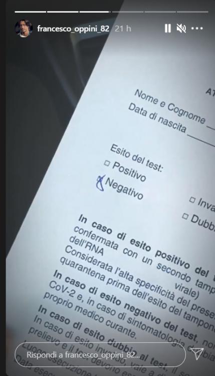 Francesco Oppini attaccato