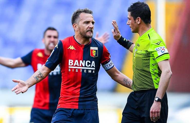 Genoa-Spezia pagelle tabellino