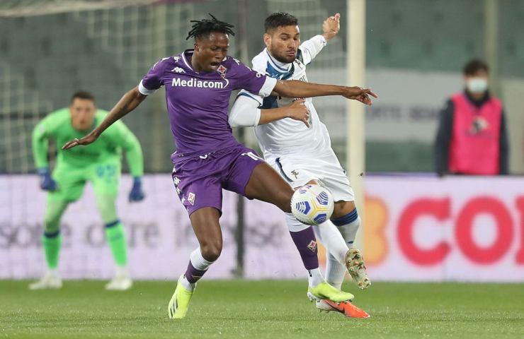 Fiorentina-Atalanta Serie A