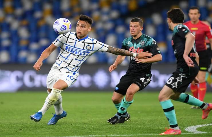 Napoli Inter serie A