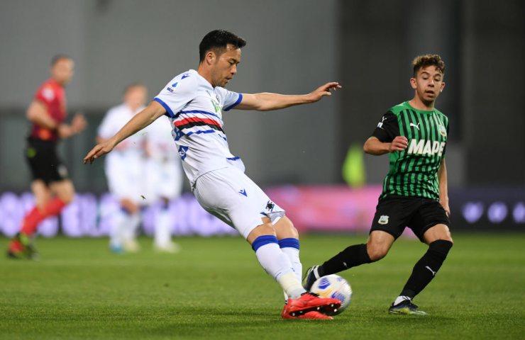 Sassuolo - Sampdoria Serie A