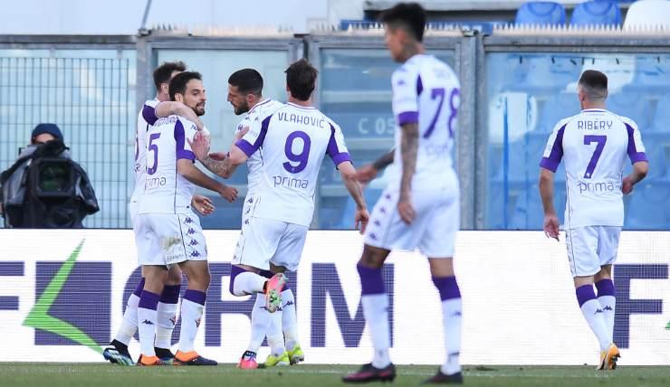 gol Sassuolo-Fiorentina