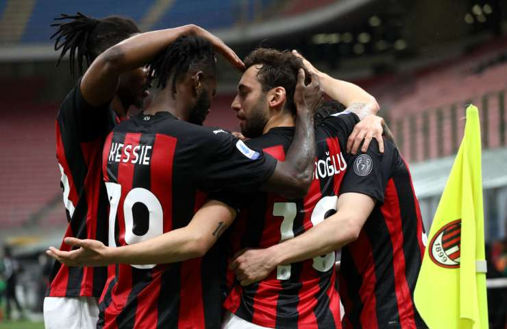 Gol Milan-Sassuolo