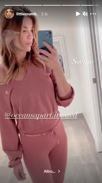 La modella Elisabetta Canalis