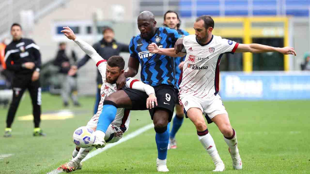 Inter-Cagliari Serie A tabellino pagelle