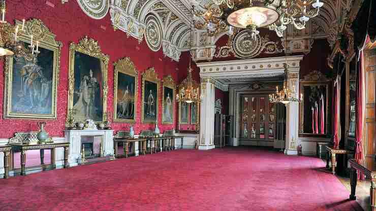 State Dining Room, Buckingham Palace segreti palazzo reale