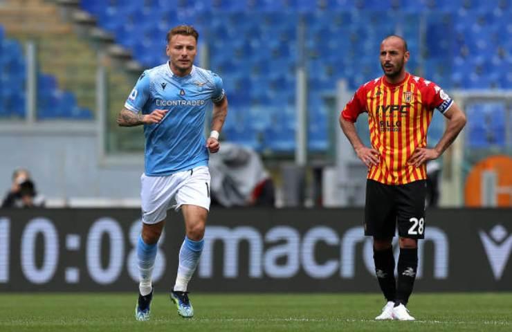 Lazio-Benevento pagelle tabellino