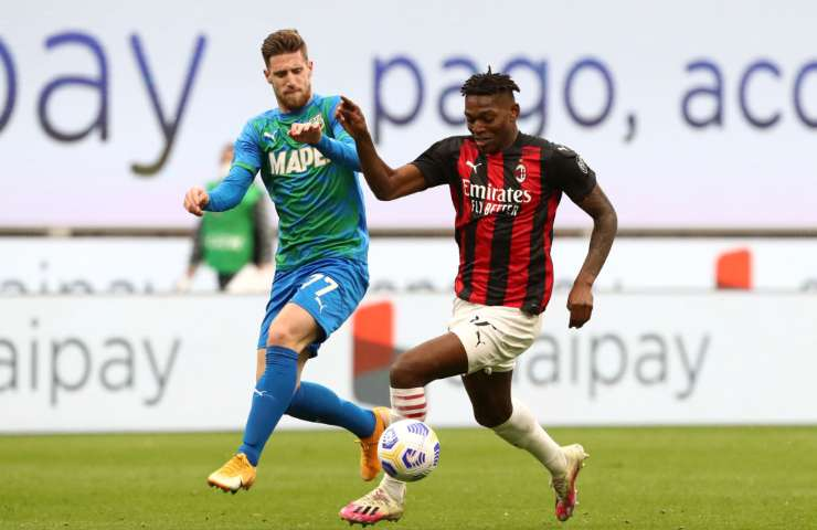 Leao Getty Images Milan-Sassuolo