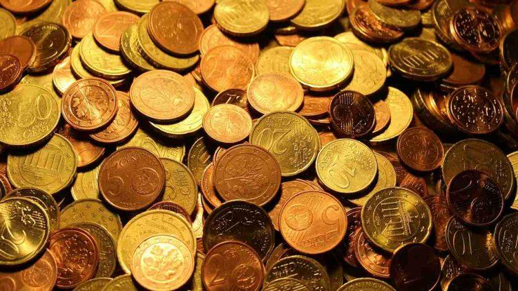 Monete euro 120mila euro