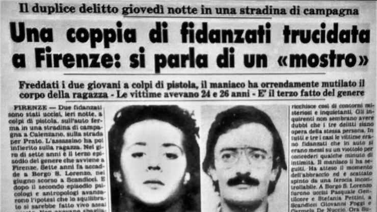 Mostro di Firenze giornale nuove prove killer