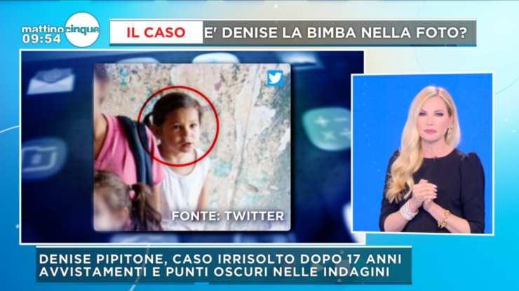 Nuove foto di Denise Pipitone federica panicucci Mattino Cinque