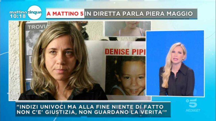 Piera Maggio a Mattino Cinque Denise Pipitone