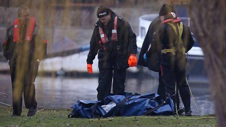 cadavere decapitato nel fiume