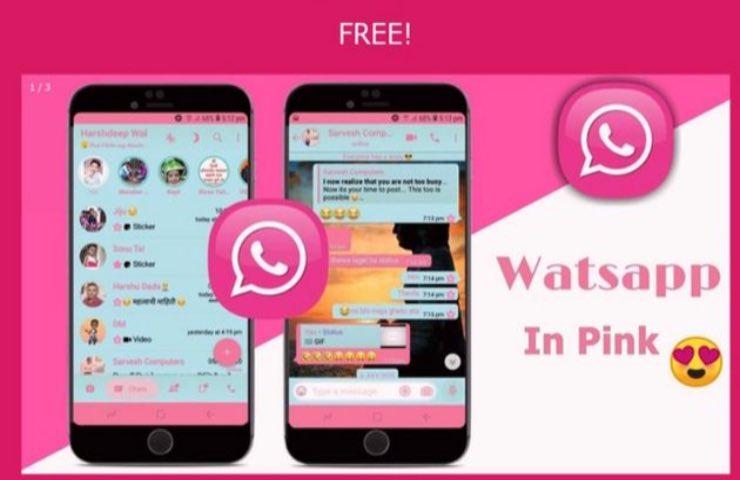 WhatsApp rosa truffa app fake pericolo