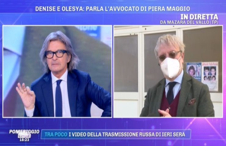 Denise Pipitone avvocato s'infuria