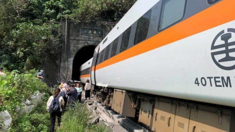 treno Taiwan strage