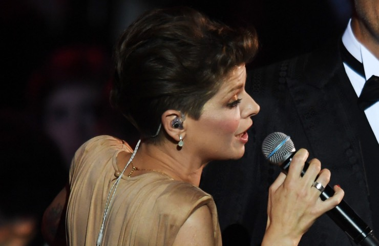 Alessandra Amoroso pino Daniele lacrime