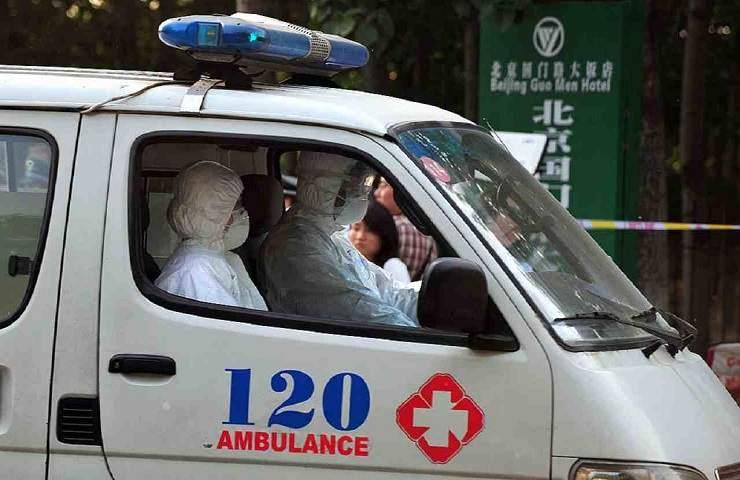 Ambulanza cinese