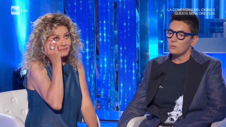 Domenica In Eva Grimaldi intervista