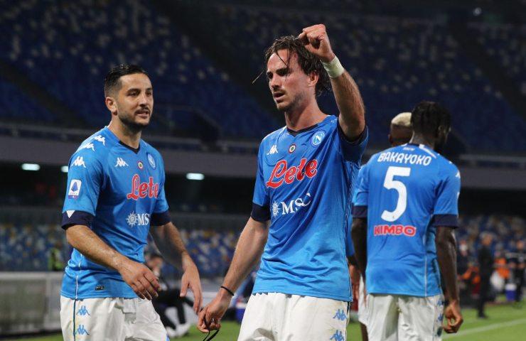 Fabian Ruiz gol Napoli
