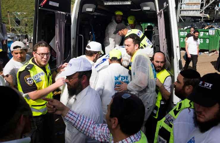 israele 44 morti 150 feriti pellegrinaggio