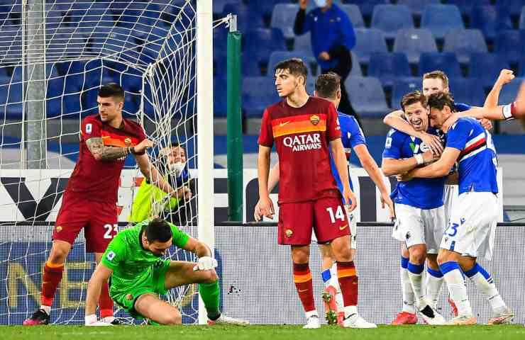 Sampdoria Roma Serie A