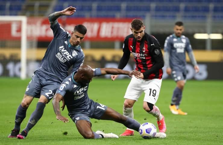 Milan Benevento Serie A