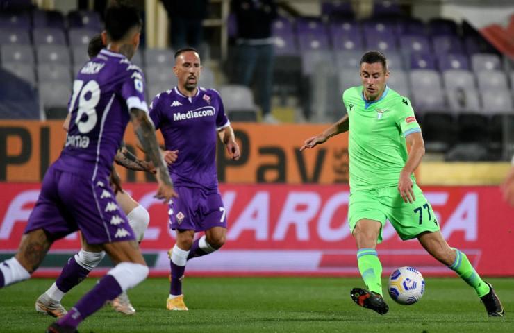 Fiorentina-Lazio 35 giornata Serie A