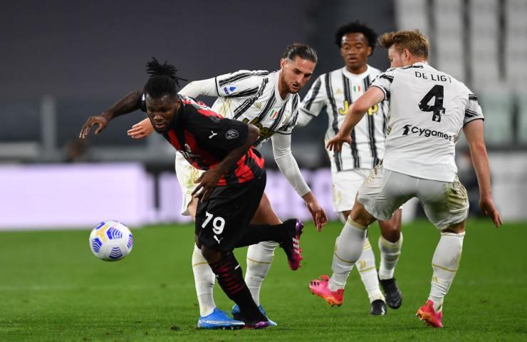 Juventus Milan 35 giornata Serie A