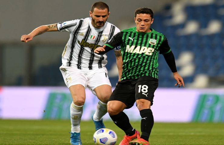 Sassuolo-Juventus Serie A
