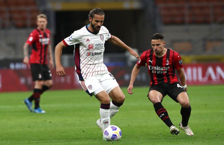 Milan Cagliari Serie A