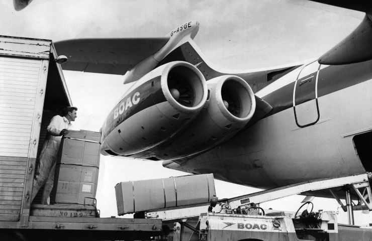 Disastri aerei, volo BOAC 781: