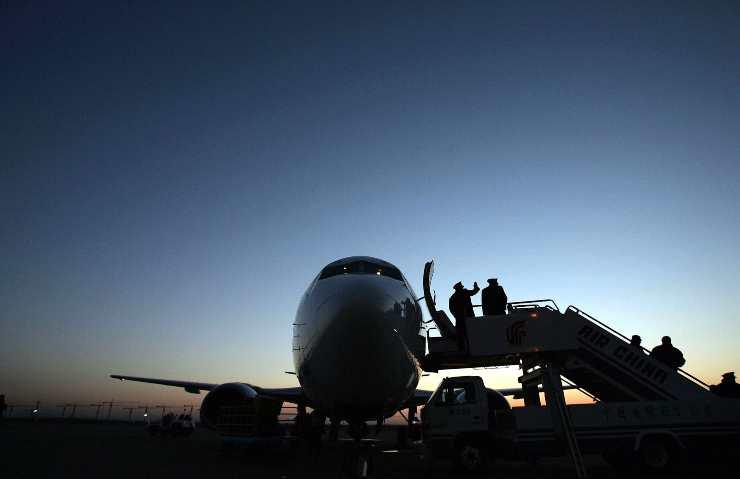 Volo Air China 129: