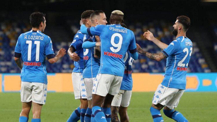 Gol Napoli-Udinese