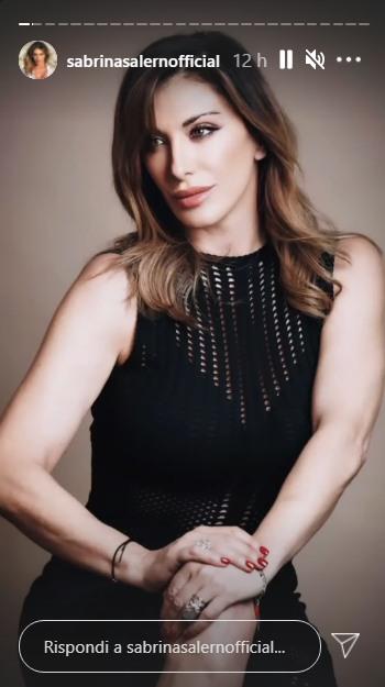 La cantante Sabrina Salerno
