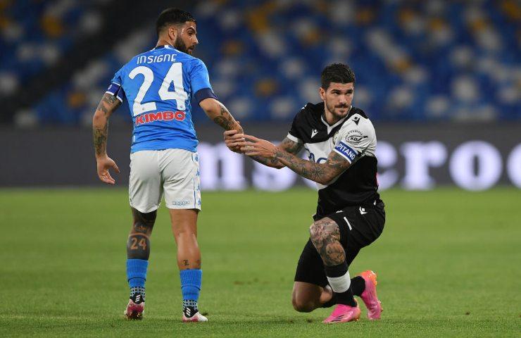 Napoli-Udinese foto Getty