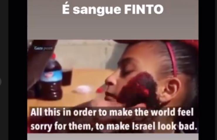 Jonathan Kashanian bambini palestinesi truccati