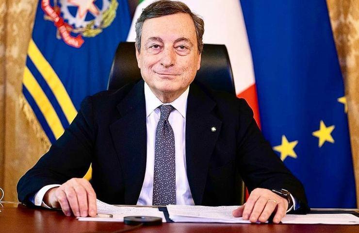 Mario Draghi coprifuoco zona bianca regioni