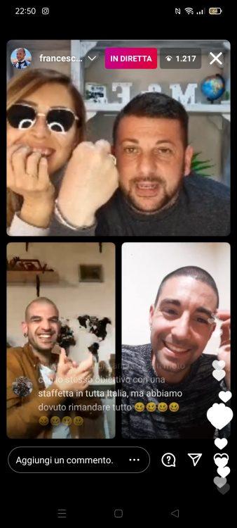 Diretta tripla Francesco Muzzi Salvo Bonfiglio Fabio Peronespolo