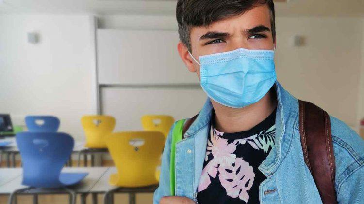 rifiuta mascherina in classe