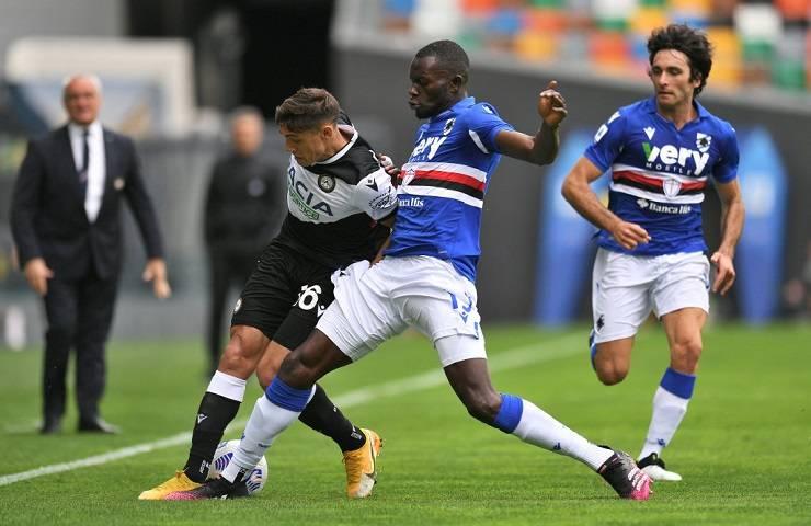 Udinese-Sampdoria