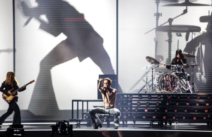 Maneskin all'Eurovision prove