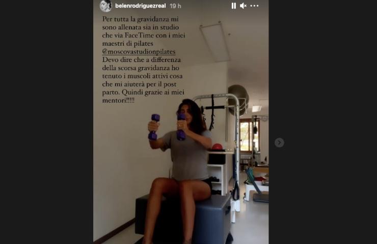 Belen Rodriguez rivelazione segreta gravidanza