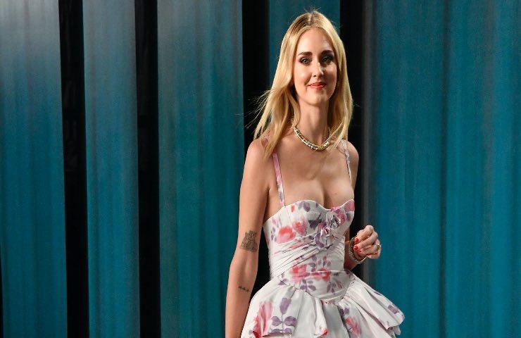 Chiara Ferragni Scala abito Dior