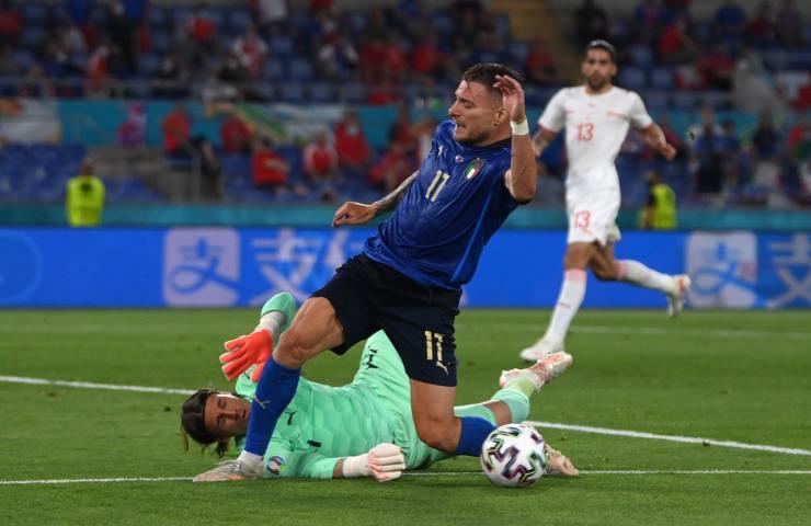 Immobile Italia Svizzera Euro2020
